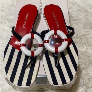 Ramon Tenza Lifeguard Nautical Sandals